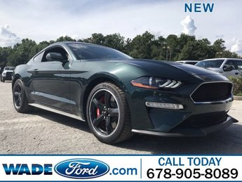 2019 Dark Highland Green Metallic Ford Mustang Bullitt Manual Premium Unleaded V-8 5.0 L/302 Engine 2 Door Coupe RWD