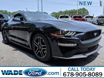 2019 Ford Mustang EcoBoost Premium RWD Automatic Coupe Intercooled Turbo Premium Unleaded I-4 2.3 L/140 Engine