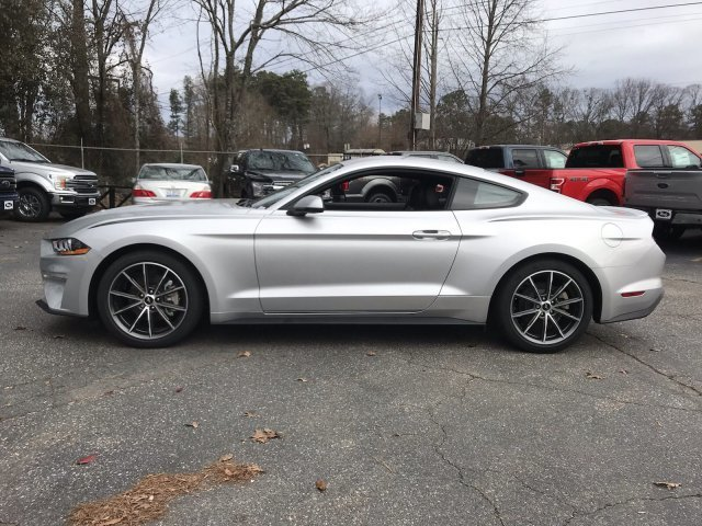 2018 Ford Mustang EcoBoost Premium Automatic Intercooled Turbo Premium Unleaded I-4 2.3 L/140 Engine Coupe 2 Door RWD