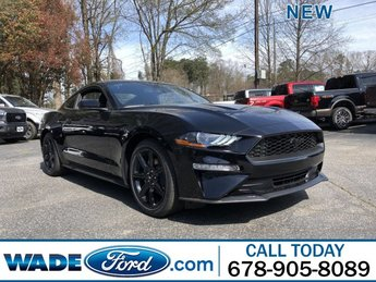 2019 Ford Mustang EcoBoost Coupe Intercooled Turbo Premium Unleaded I-4 2.3 L/140 Engine RWD 2 Door