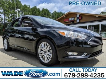 2018 Ford Focus Titanium 4 Door FWD I-4 2.0 L/122 Engine Automatic