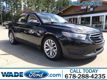 2012 Ford Taurus SEL Gas V6 3.5L/213 Engine Automatic FWD 4 Door Sedan