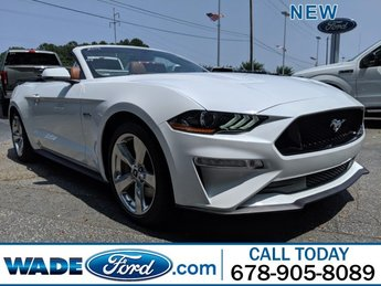 2019 Oxford White Ford Mustang GT Premium Automatic Premium Unleaded V-8 5.0 L/302 Engine RWD 2 Door