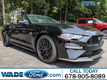 2019 Shadow Black Ford Mustang GT Premium RWD Automatic Convertible Premium Unleaded V-8 5.0 L/302 Engine