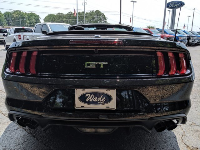 2019 Shadow Black Ford Mustang GT Premium Automatic RWD 2 Door Convertible Premium Unleaded V-8 5.0 L/302 Engine