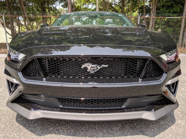 2019 Shadow Black Ford Mustang GT Premium Convertible RWD Automatic Premium Unleaded V-8 5.0 L/302 Engine 2 Door