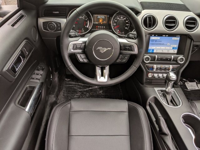 2019 Ford Mustang EcoBoost Premium Convertible Intercooled Turbo Premium Unleaded I-4 2.3 L/140 Engine Automatic 2 Door