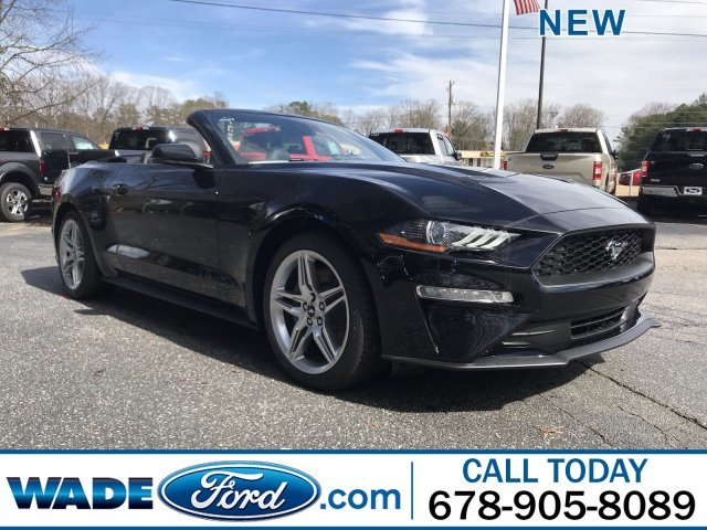2019 Ford Mustang EcoBoost Premium Convertible RWD 2 Door Automatic