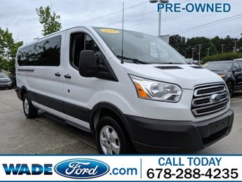 2018 Oxford White Ford Transit Passenger Wagon XLT V-6 3.7 L/228 Engine 3 Door Automatic