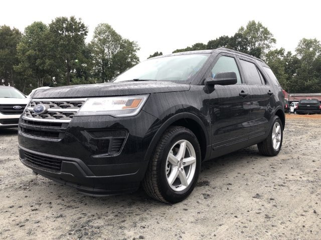 2018 Ford Explorer Base SUV FWD 4 Door Automatic Intercooled Turbo Premium Unleaded I-4 2.3 L/140 Engine