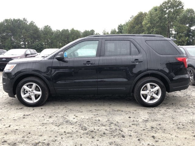 2018 Shadow Black Ford Explorer Base 4 Door Automatic Intercooled Turbo Premium Unleaded I-4 2.3 L/140 Engine