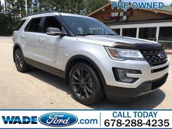 2017 Ingot Silver Metallic Ford Explorer XLT 4 Door SUV FWD