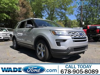 2019 Ingot Silver Metallic Ford Explorer XLT FWD SUV 4 Door Intercooled Turbo Premium Unleaded I-4 2.3 L/140 Engine