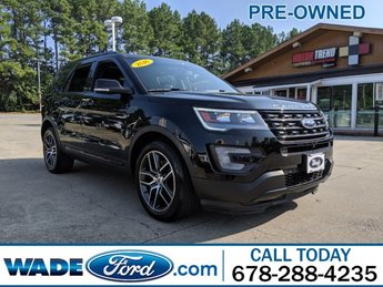 2016 Shadow Black Ford Explorer Sport Automatic SUV 4 Door