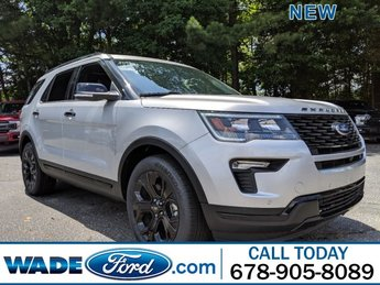 2019 Ford Explorer Sport AWD SUV Twin Turbo Premium Unleaded V-6 3.5 L/213 Engine Automatic