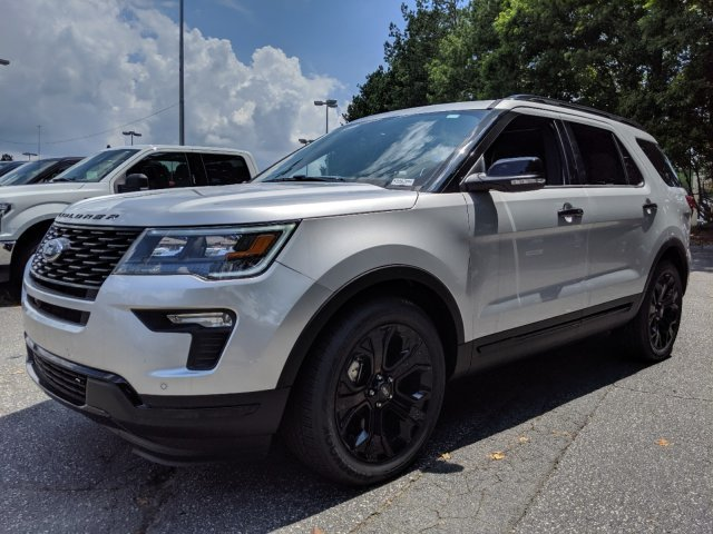 2019 Ford Explorer Sport SUV 4 Door AWD Automatic