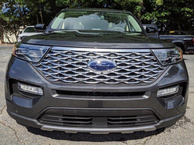 2020 Magnetic Metallic Ford Explorer Platinum Automatic AWD SUV Twin Turbo Premium Unleaded V-6 3.0 L/183 Engine 4 Door