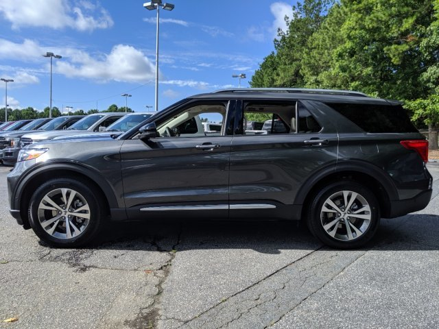 2020 Ford Explorer Platinum Twin Turbo Premium Unleaded V-6 3.0 L/183 Engine 4 Door Automatic AWD SUV