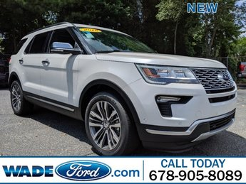 2018 Ford Explorer Platinum 4 Door Twin Turbo Premium Unleaded V-6 3.5 L/213 Engine AWD Automatic