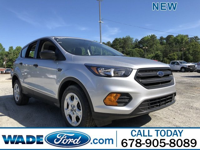 2019 Ingot Silver Metallic Ford Escape S Automatic Regular Unleaded I-4 2.5 L/152 Engine SUV 4 Door