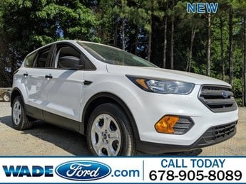 2019 Oxford White Ford Escape S FWD 4 Door Automatic SUV Regular Unleaded I-4 2.5 L/152 Engine