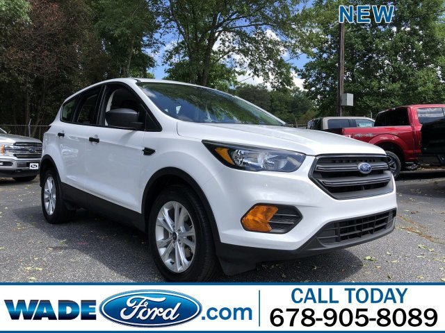 2019 Ford Escape S Automatic FWD Regular Unleaded I-4 2.5 L/152 Engine
