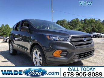 2019 Magnetic Metallic Ford Escape S 4 Door FWD Regular Unleaded I-4 2.5 L/152 Engine Automatic SUV