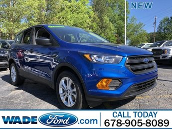 2019 Lightning Blue Metallic Ford Escape S Automatic SUV FWD 4 Door