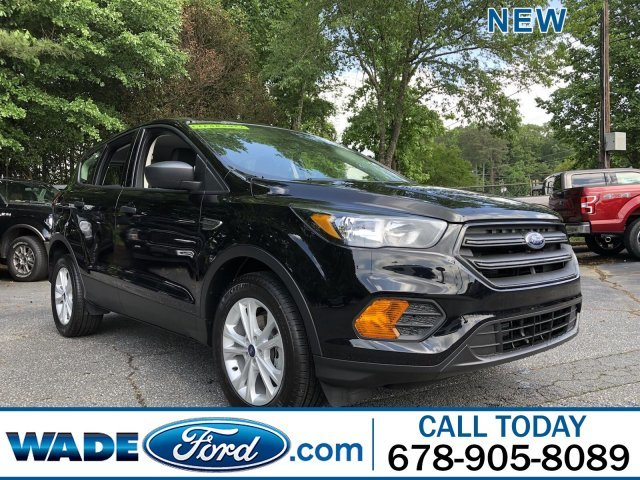 2019 Agate Black Metallic Ford Escape S Regular Unleaded I-4 2.5 L/152 Engine SUV 4 Door Automatic FWD