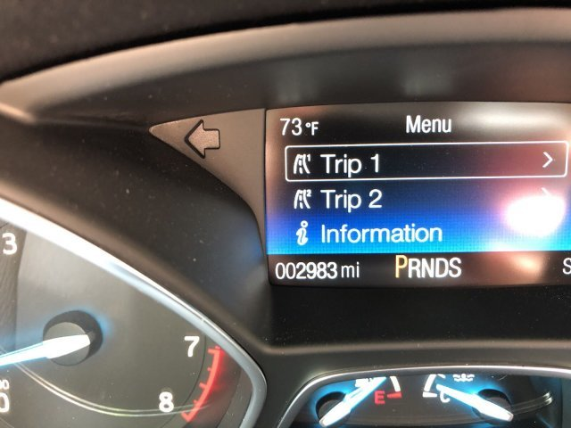 2019 Agate Black Metallic Ford Escape S Regular Unleaded I-4 2.5 L/152 Engine FWD 4 Door SUV