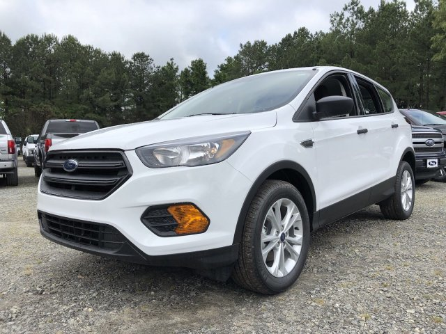 2019 Ford Escape S FWD SUV Regular Unleaded I-4 2.5 L/152 Engine Automatic 4 Door