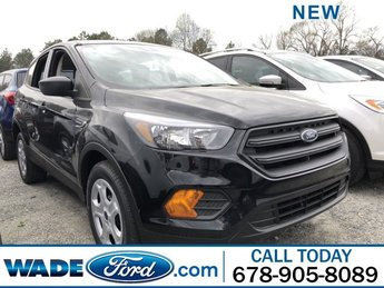 2019 Ford Escape S Regular Unleaded I-4 2.5 L/152 Engine FWD 4 Door Automatic SUV
