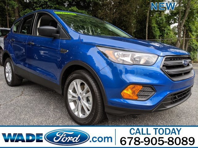 2019 Lightning Blue Metallic Ford Escape S SUV 4 Door Regular Unleaded I-4 2.5 L/152 Engine