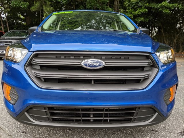 2019 Lightning Blue Metallic Ford Escape S Regular Unleaded I-4 2.5 L/152 Engine Automatic SUV