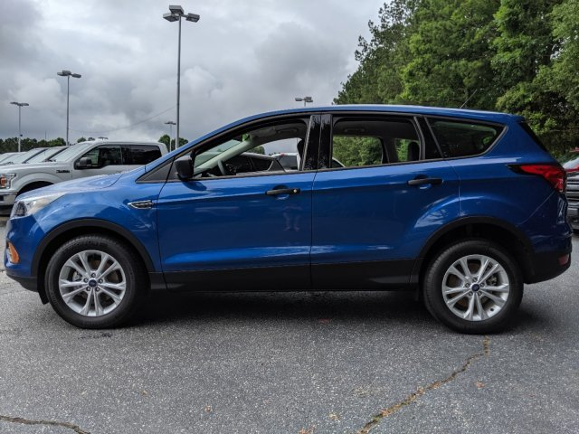 2019 Lightning Blue Metallic Ford Escape S SUV FWD Automatic
