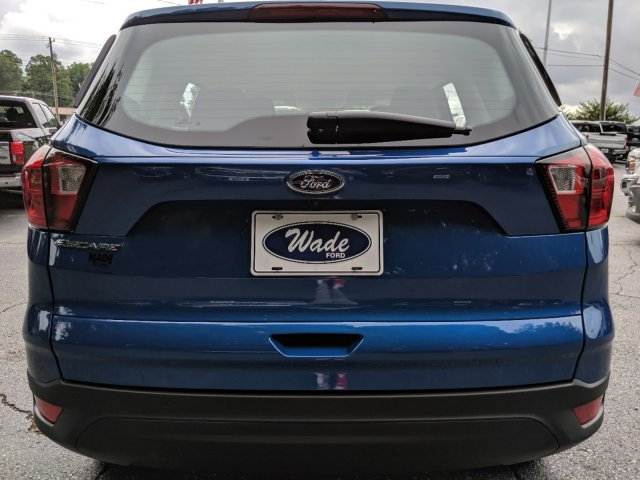 2019 Lightning Blue Metallic Ford Escape S SUV Automatic FWD
