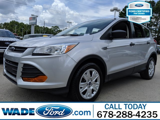 2016 Ford Escape S FWD I-4 2.5 L/152 Engine Automatic 4 Door SUV
