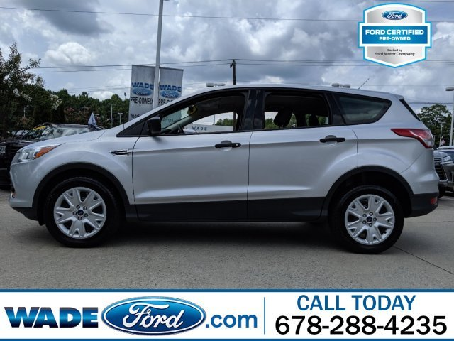 2016 Ingot Silver Ford Escape S Automatic I-4 2.5 L/152 Engine SUV 4 Door FWD