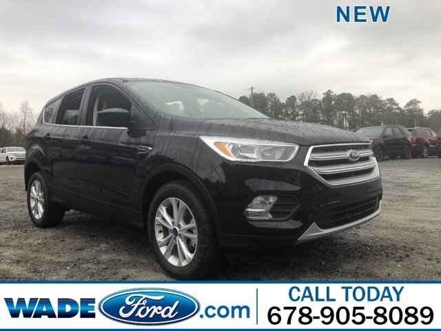 2019 Agate Black Metallic Ford Escape SE Automatic 4 Door Intercooled Turbo Regular Unleaded I-4 1.5 L/92 Engine SUV FWD