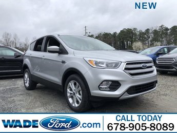 2019 Ingot Silver Metallic Ford Escape SE SUV Automatic FWD 4 Door