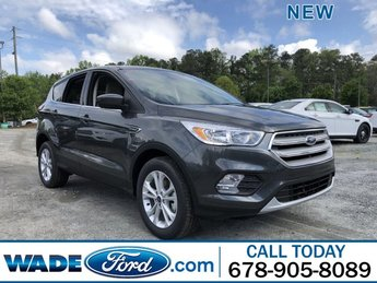 2019 Magnetic Metallic Ford Escape SE Intercooled Turbo Regular Unleaded I-4 1.5 L/92 Engine 4 Door FWD Automatic