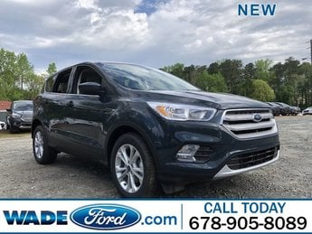 2019 Baltic Sea Green Metallic Ford Escape SE SUV FWD 4 Door