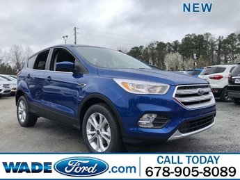 2019 Lightning Blue Metallic Ford Escape SE Intercooled Turbo Regular Unleaded I-4 1.5 L/92 Engine FWD Automatic 4 Door