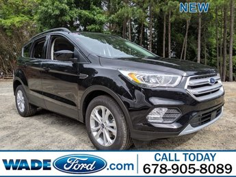 2019 Agate Black Metallic Ford Escape SEL 4 Door Intercooled Turbo Regular Unleaded I-4 1.5 L/92 Engine Automatic FWD