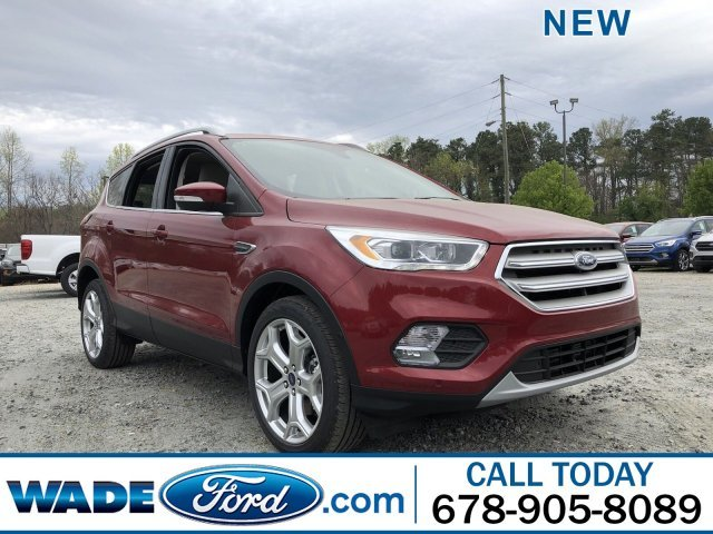 2019 Ford Escape Titanium Intercooled Turbo Premium Unleaded I-4 2.0 L/122 Engine 4 Door SUV FWD