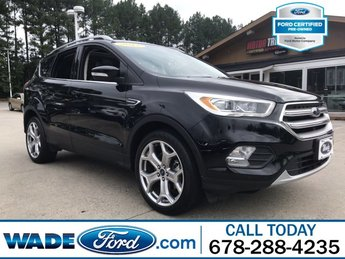 2017 Ford Escape Titanium SUV I-4 2.0 L/121 Engine 4 Door Automatic