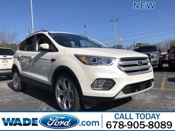 2019 Ford Escape Titanium Automatic SUV FWD 4 Door
