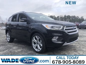 2019 Ford Escape Titanium SUV 4 Door Intercooled Turbo Premium Unleaded I-4 2.0 L/122 Engine Automatic