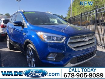 2019 Ford Escape Titanium SUV Intercooled Turbo Premium Unleaded I-4 2.0 L/122 Engine 4 Door Automatic