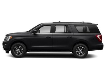 2019 Agate Black Metallic Ford Expedition Max Limited Twin Turbo Premium Unleaded V-6 3.5 L/213 Engine RWD Automatic 4 Door SUV